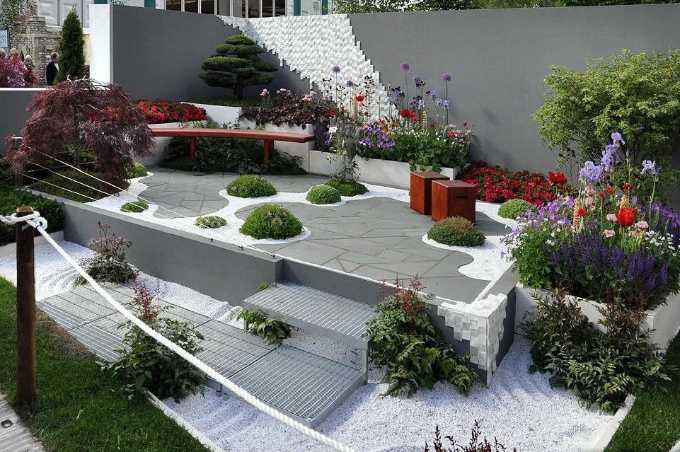 сады в стиле модерн в истории садоводства