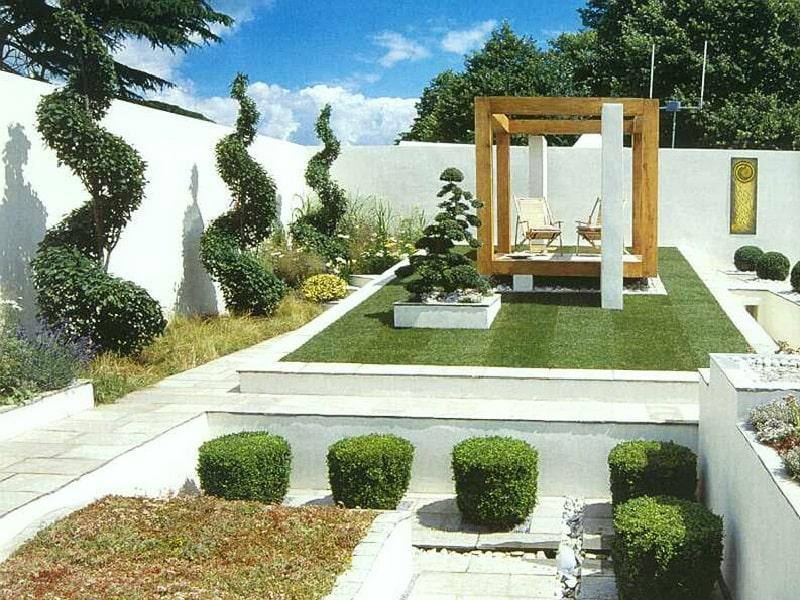современные сады в истории садово-паркового искусства