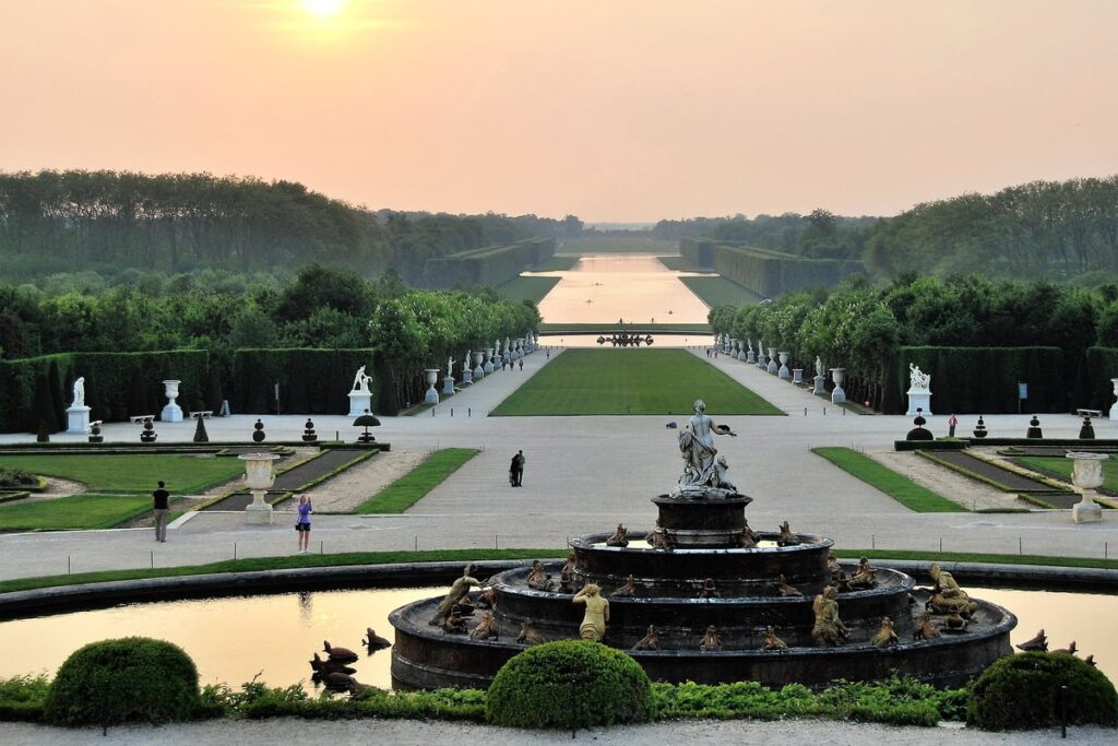 классический парк в Версале